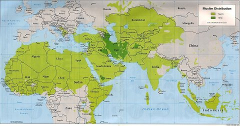 Muslim Sunni and Shia