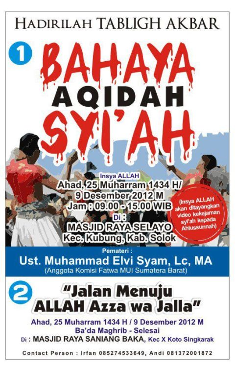 tabligh akbar solok 9.12.12