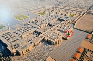 perluasan Masjid Nabawi tanpa menyentuh makam rasulullah 3
