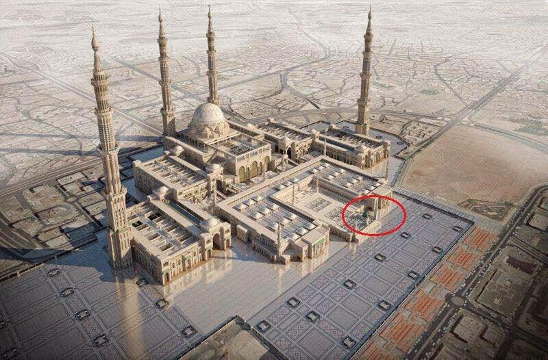 Maket Perluasan Masjid Nabawi Tidak Ada Pemindahan Makam
