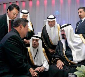 raja abdullah dengan sby
